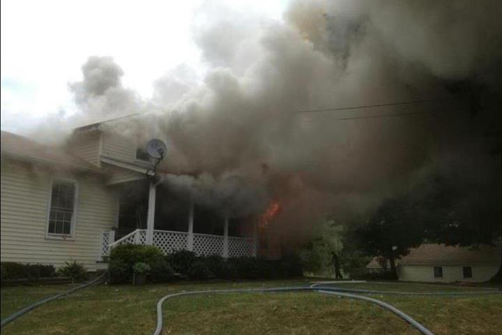 Calls Thumbnail -  House Fire Assist to Andover Fire